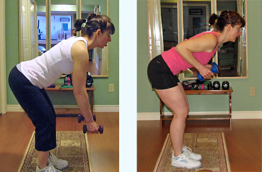 Demonstration of Bad (left) and Good (right) Training Posture