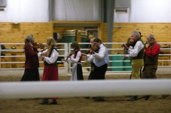 Norwegian Folk Music Group. They were wonderful!