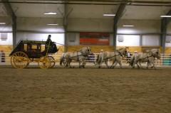 Six Horse Stagecoach