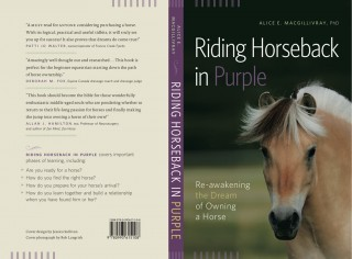 Riding Horseback in Purple by Alice MacGillivray